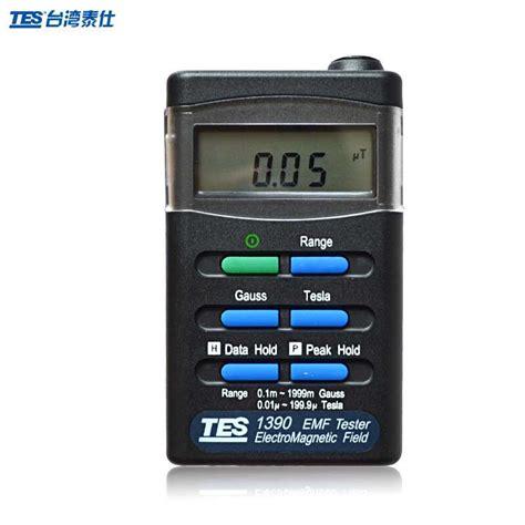 tesla radiation tes 1390 emf gauss meter 2000 milli gauss 200 micro tesla