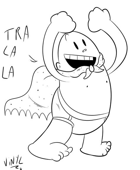 Captain Underpants Coloring Page Coloring Home Captain Underpants Coloring Pages