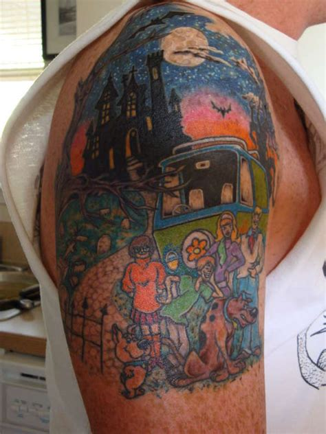 scooby doo tattoos scooby doo and the tattoomagz