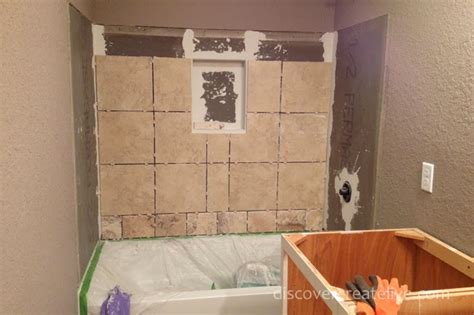 prep for shower wall tile time for tile durock prep installation and grout