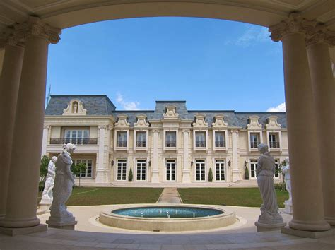 Chateau Home Plans A Stunning French Chateau Inspired Mega Mansion In