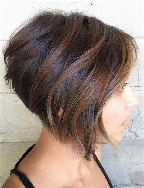 15 short stacked haircuts short hairstyles 2016 2017 the gallery for gt feathered bobs for black women