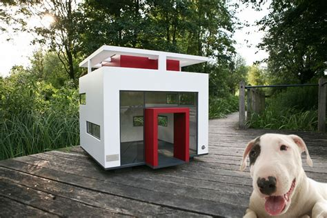 modern dog house plans 11 luxury dog houses worthy of mtv cribs barkpost