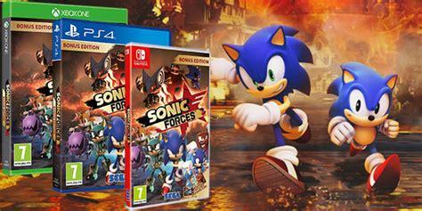 Nintendo Switch Sonic Forces Bonus Edition reserva sonic forces bonus edition para nintendo switch