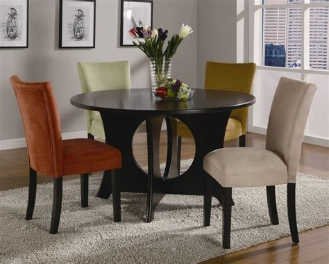 5 dining room sets castana 5 dining set in rich cappuccino finish by