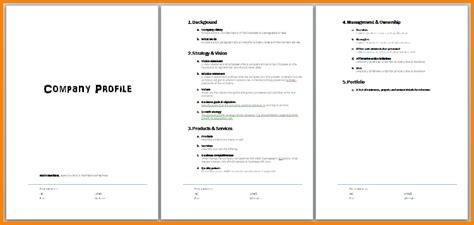 company template 28 images sle company profile sle 7 free documents in pdf word profile