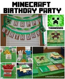 minecraft birthday decorations minecraft birthday coloradomoms