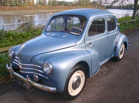 1961 renault dauphine classic chrome renault 4cv 1961 p p metallic blue