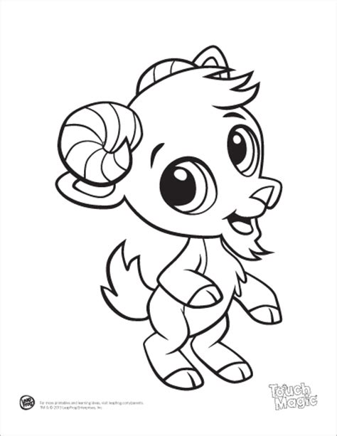 Colouring Pad Baby Animals leapfrog printable baby animal coloring pages goat coloring animals baby