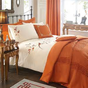 orange duvet sets orange osaka duvet cover standard pillowcase set