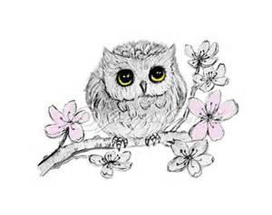 Art baby animal art baby owl drawing owl nursery decor owl gift