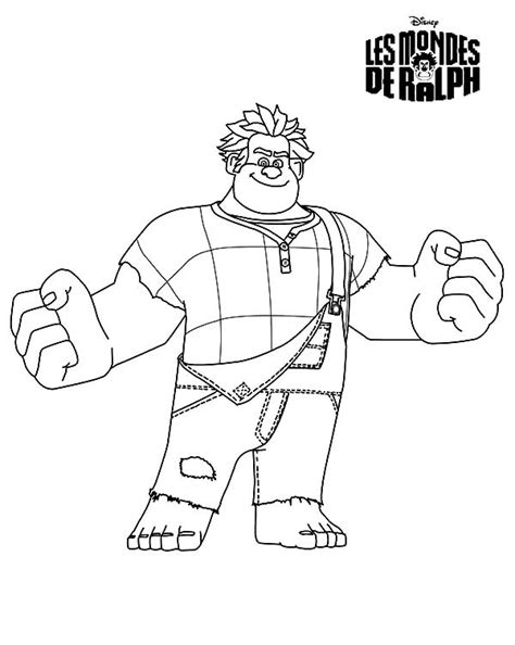wreck it ralph coloring pages coloring pages of wreck it ralph king coloring pages