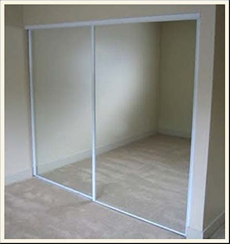 Closet Sliding Doors Mirror Amazing Sliding Closet Door Makeovers 187 Curbly Diy Design Decor