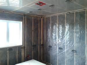 wall insulation vapor barrier acoustical selant