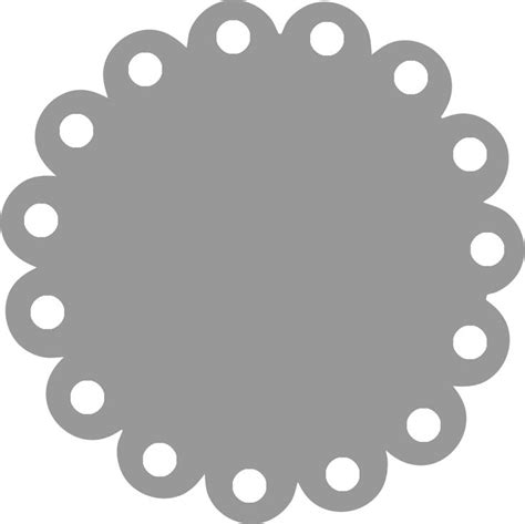 scalloped edge template best photos of scalloped circle template free scalloped