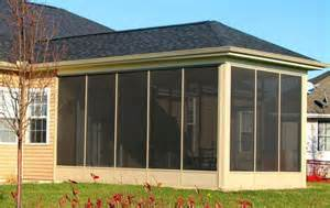 aluminum screened porch panels at deck builder outlet