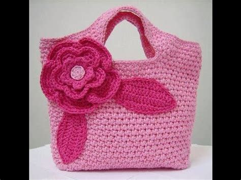 tutorial merajut crochet crochet handbag purse tutorial doovi