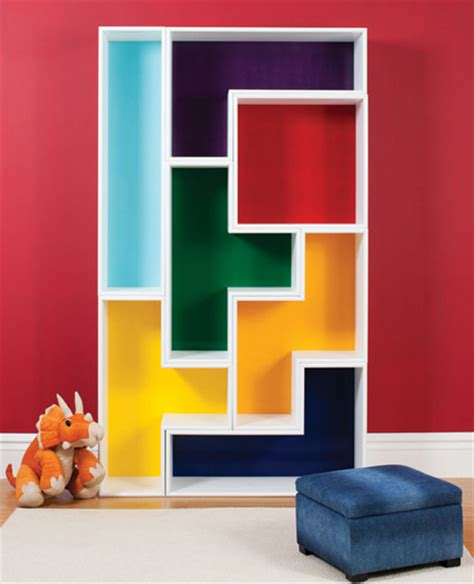 stack em up tetromino bookshelves canadian home workshop