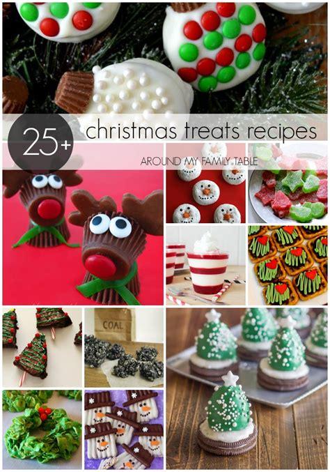 christmas treats recipes around my family table