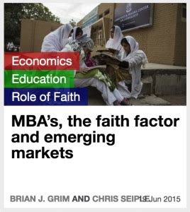 Faith Mba by Mba S The Faith Factor And Emerging Markets Rfbf