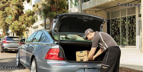 dalam kereta range beli barang dari amazon terus hantar ke dalam kereta