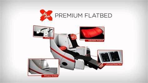 airasia premium flatbed airasia x premium flatbed youtube