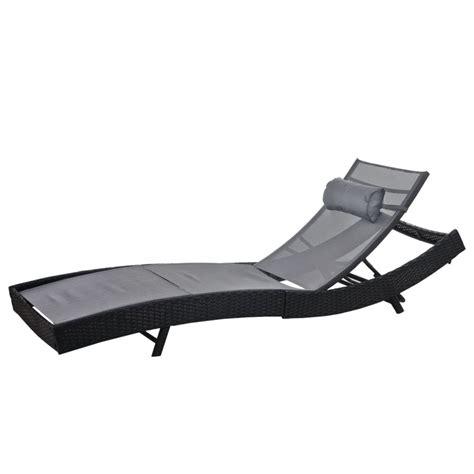 Chaise Transat Jardin by Transat De Jardin Chaise Longue Relax En Polyrotin
