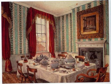 Dining Room Etiquette Era Setting The Table Edwardian Promenade