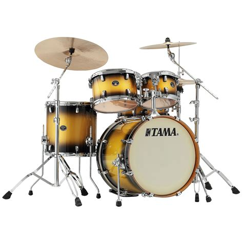 gold drum tama silverstar 20 quot vintage gold duco 171 drum kit