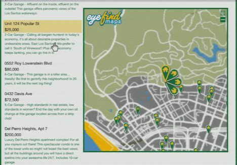 Apartment Map Gta Purchase The Best Properties In Gta Grand Theft