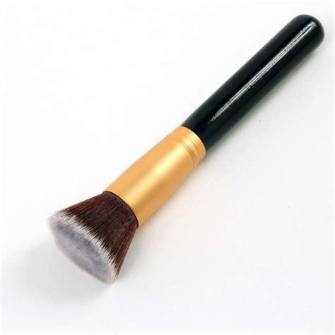 1 Pcs Kuas Eyeshadow Brush Eyeshadow Applicator 1 pcs professional makeup brush flat top brush foundation