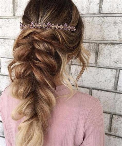 elegant prom hairstyles   pretty headband styles