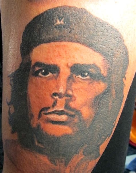 che guevara tattoo portrait of che guevara by coleman