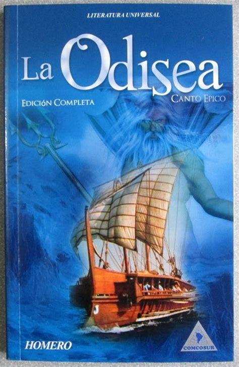 libro odiseo books and words la odisea