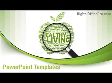 powerpoint templates free download healthy lifestyle healthy lifestyle powerpoint template backgrounds