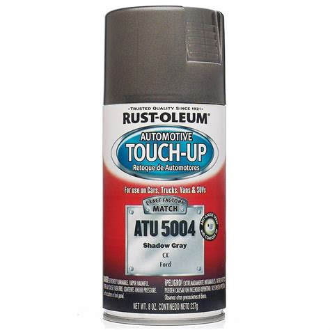 home depot car touch up paint rust oleum automotive 8 oz shadow gray auto touch up