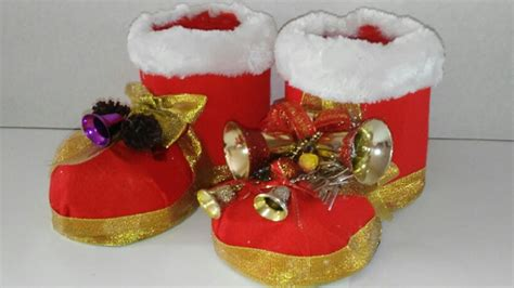 fotos de botas navideas con botella reciclaje como hacer botas de navidad con botellas de plastico