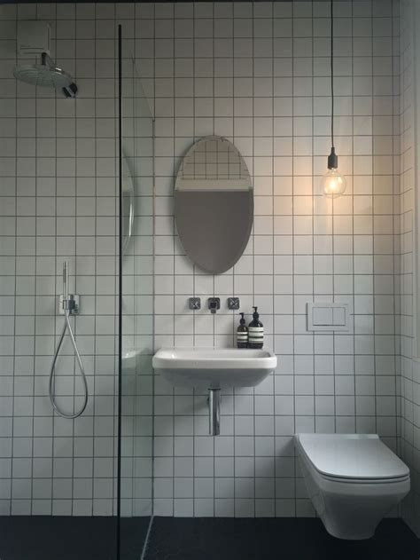Fired Earth Sinks by Finished Wetroom Ensuite Bathroom Fired Earth Tiles Axor