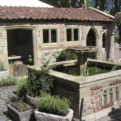 antik steinguss garten ruine kenton farm gartentraum de