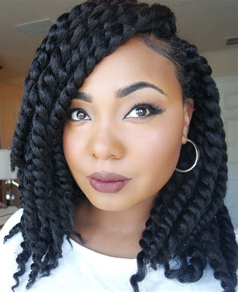 big twists with weavehow to crochetbraids short cute styles 2 try pinterest