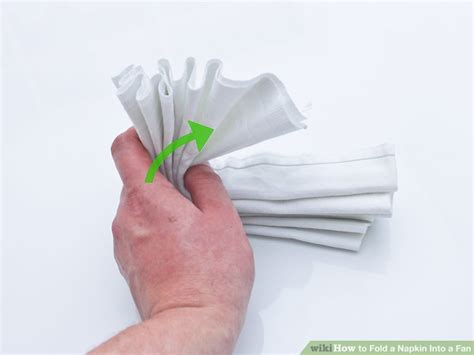 how to fold a napkin into a fan how to fold a napkin into a fan with pictures wikihow
