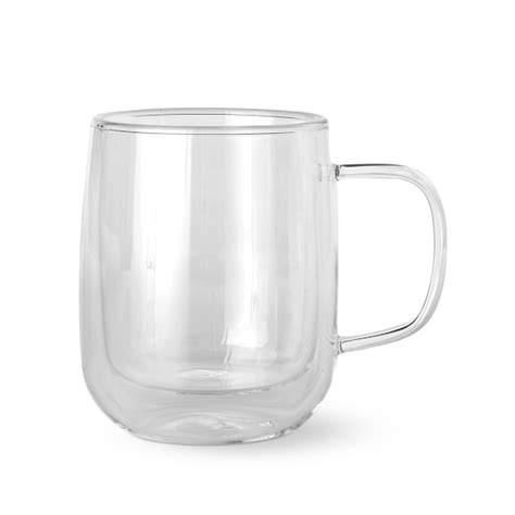 double wall glass coffee mugs williams sonoma