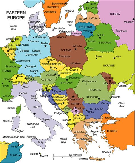 eastern euope map eastern europe map imgok