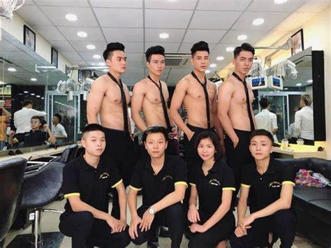 salon pria dan wanita viral salon di vietnam yang stafnya pria pria tan