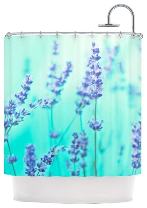 teal and purple shower curtain monika strigel quot mint lavender quot teal purple shower curtain