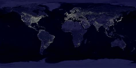 satellite nightlight images show flood exposure increasing