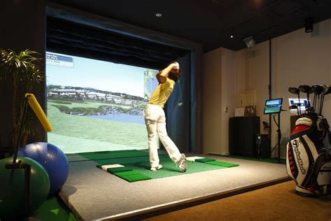 full swing indoor golf golf gadgets air golf japan