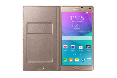 Samsung Led Wallet Note 4 etui samsung led flip wallet do galaxy note 4