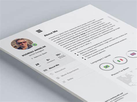 graphic design resume template indesign 28 free cv resume templates html psd indesign web graphic design bashooka