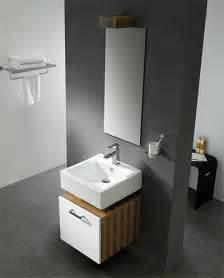 Modern Bathroom Sinks Small Spaces Small Bathroom Vanity By Lineaaqua